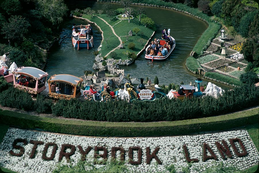 Building the Dream: The Making of Disneyland Park - Storybook Land Canal Boats