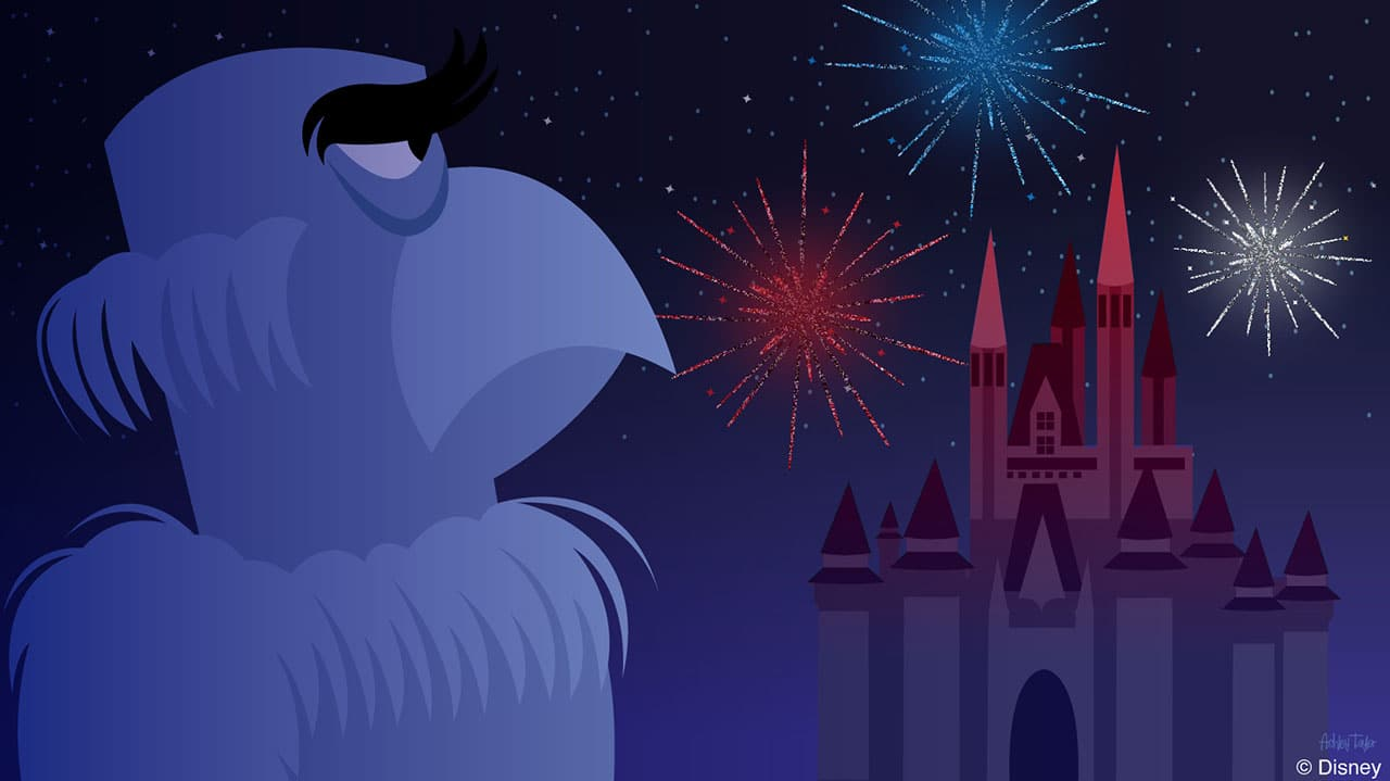 Disney Doodle: A Happy Fourth of July For Sam Eagle