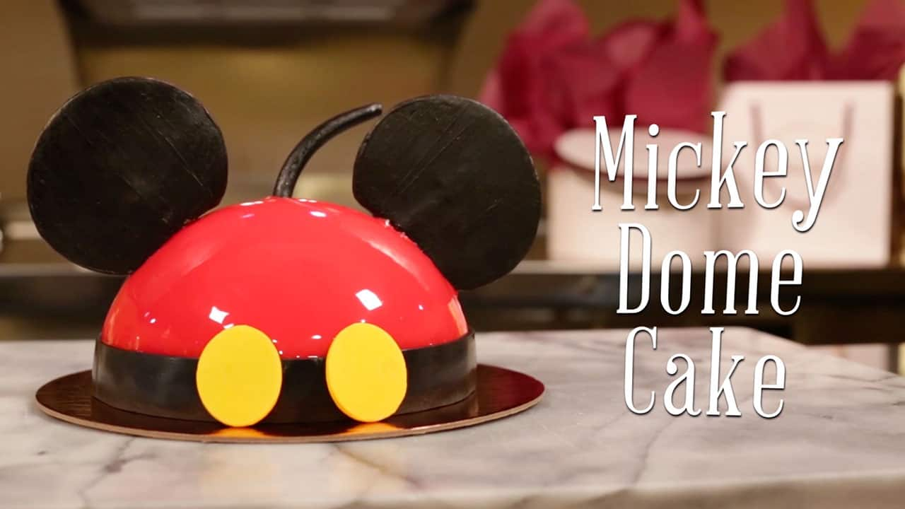 Mickey Dome Cake at Amorette's Patisserie