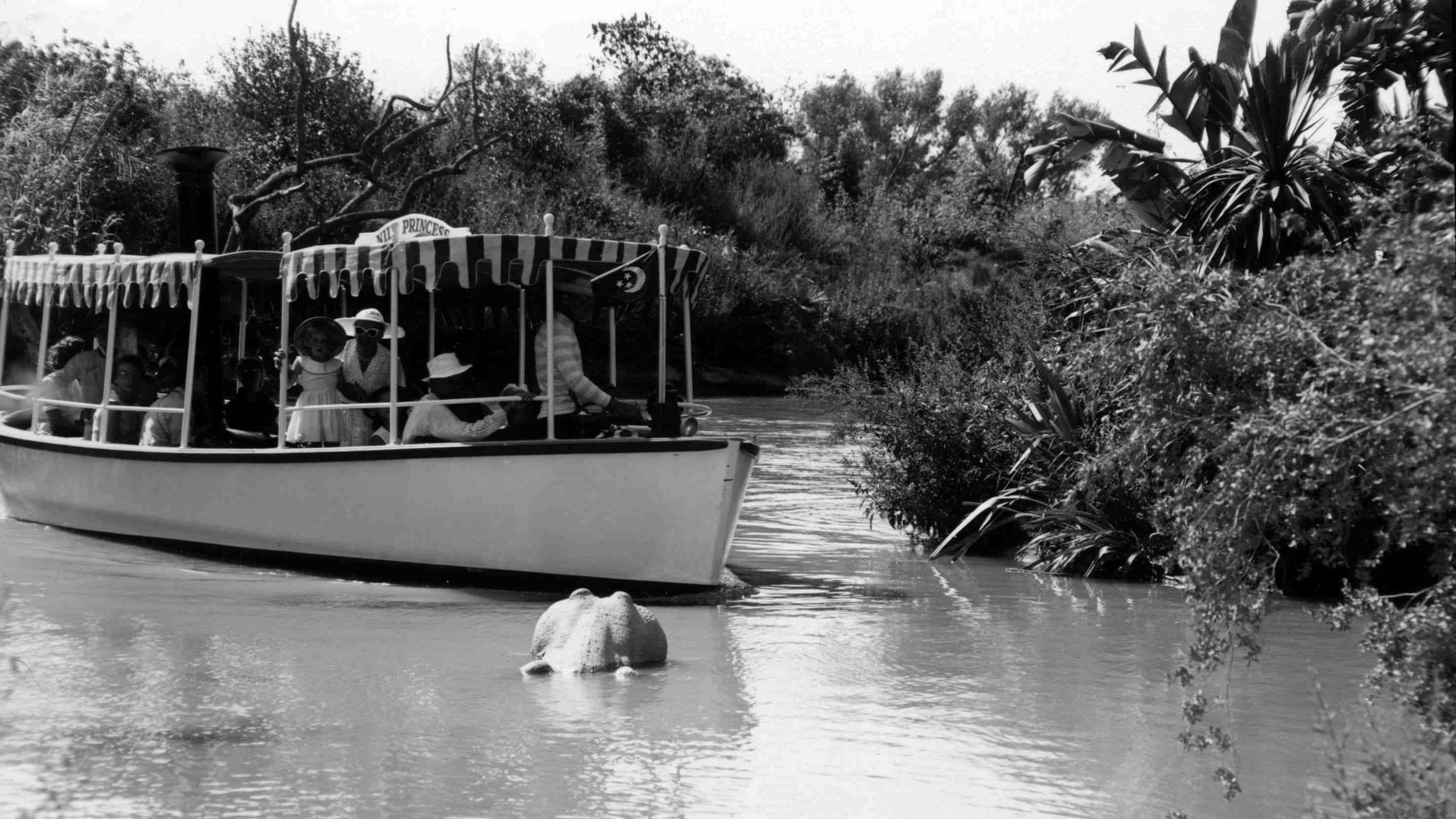 Original Disneyland Attractions - Jungle Cruise