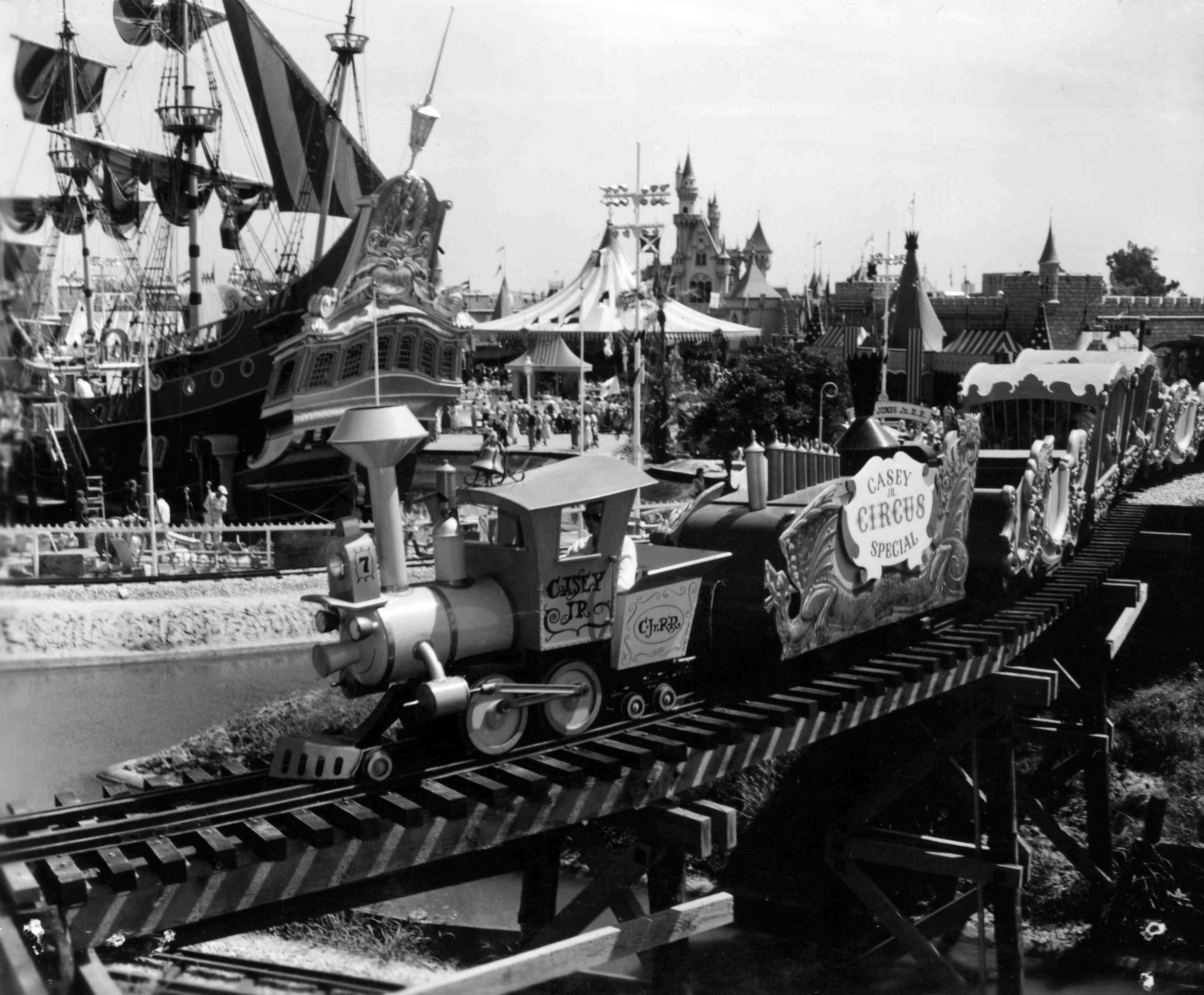 Opening Day to Today: Original Disneyland Attractions Then and Now