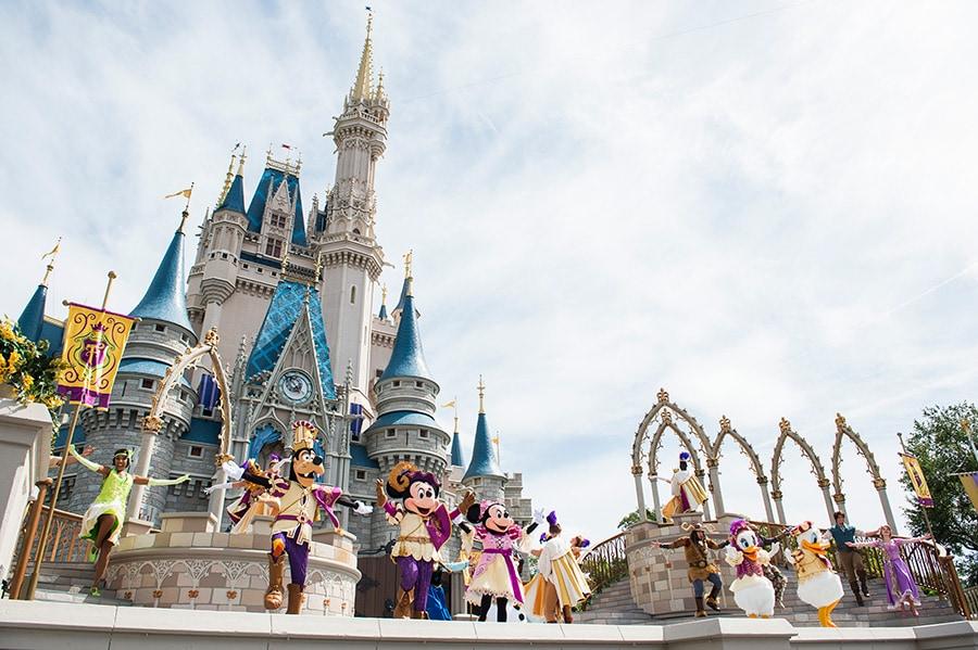 'Mickey's Royal Friendship Faire' at Magic Kingdom Park at Walt Disney World Resort