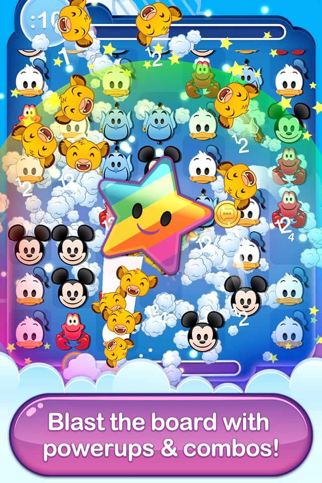 Unlock Disney Parks Emojis in Disney Emoji Blitz Game | Disney Parks