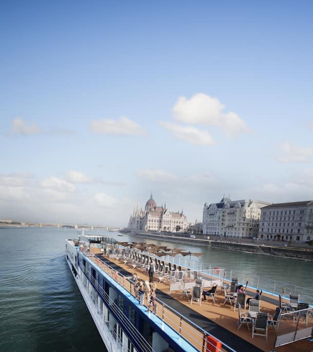 Adventures by Disney River Cruise Ship on Danube River