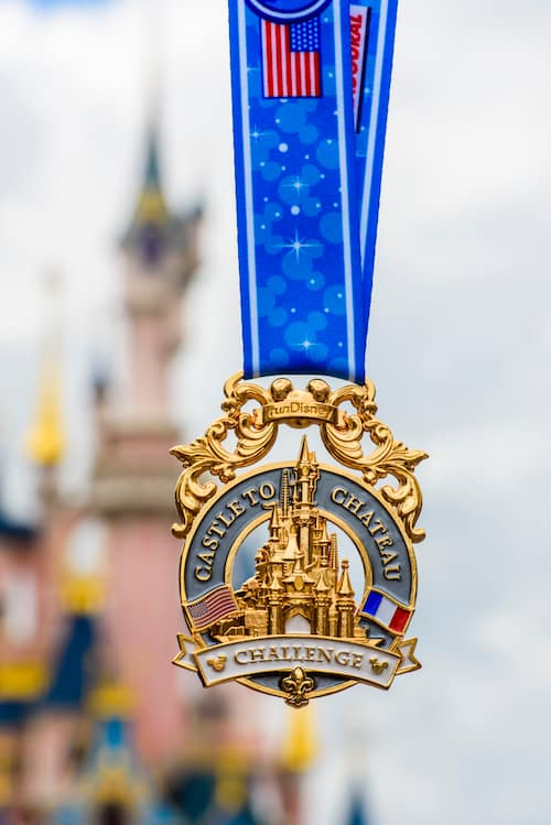 Disneyland Paris Castle to Chateau Medal