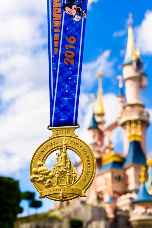 Disneyland Paris Half Marathon Medal