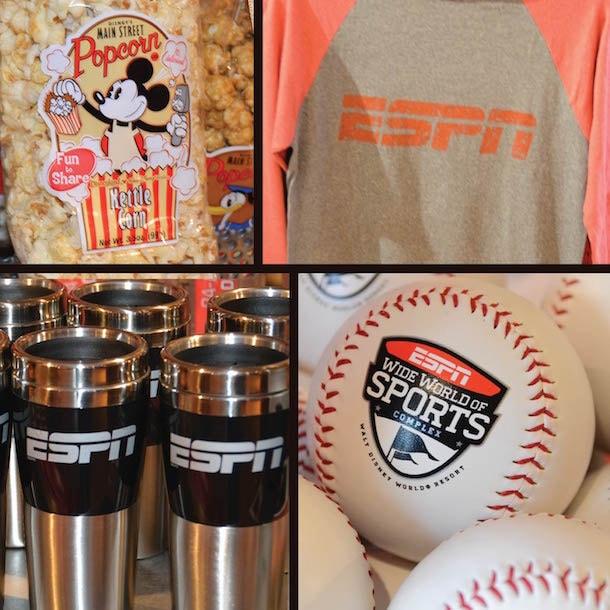 ESPN Baseball T-Shirt, ESPN Mug, ESPN World Wide Sports Baseball