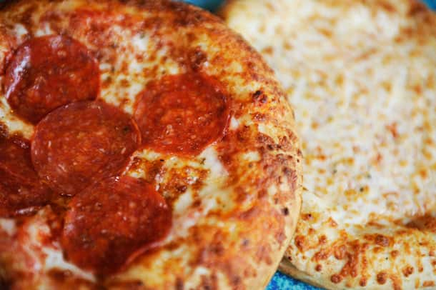 Personal-Sized Pizzas from Bayside Brews at Disney California Adventure Park