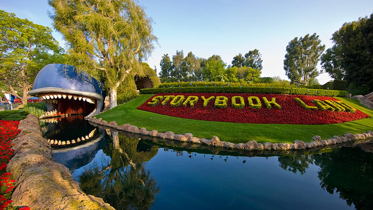 Storybook Land Canal at Disneyland Resort