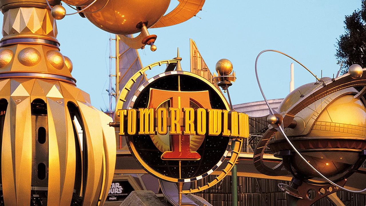 Tomorrowland Terrace Stage at Disneyland Park