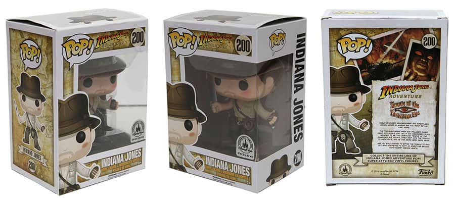 95dafe54e58 Indiana Jones Funko Pop! Figure Coming to Disney Parks on July 22 ...