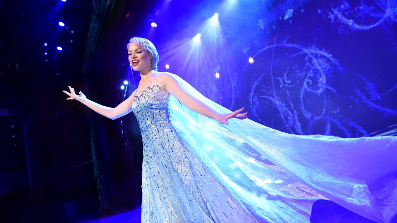"""""""Frozen, A Musical Spectacular"""" Takes the Stage at Disney Cruise Line"""