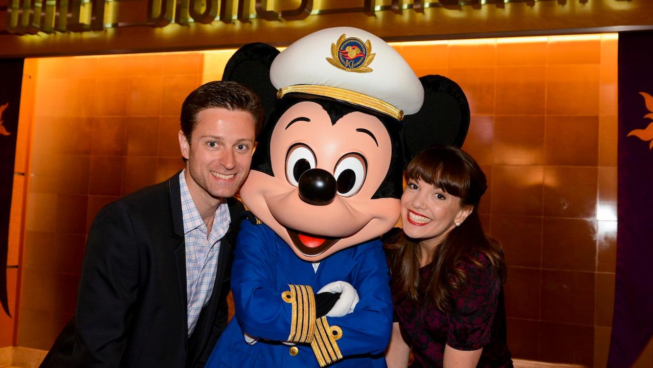 Kevin Massey and Kara Lindsay on the Disney Magic