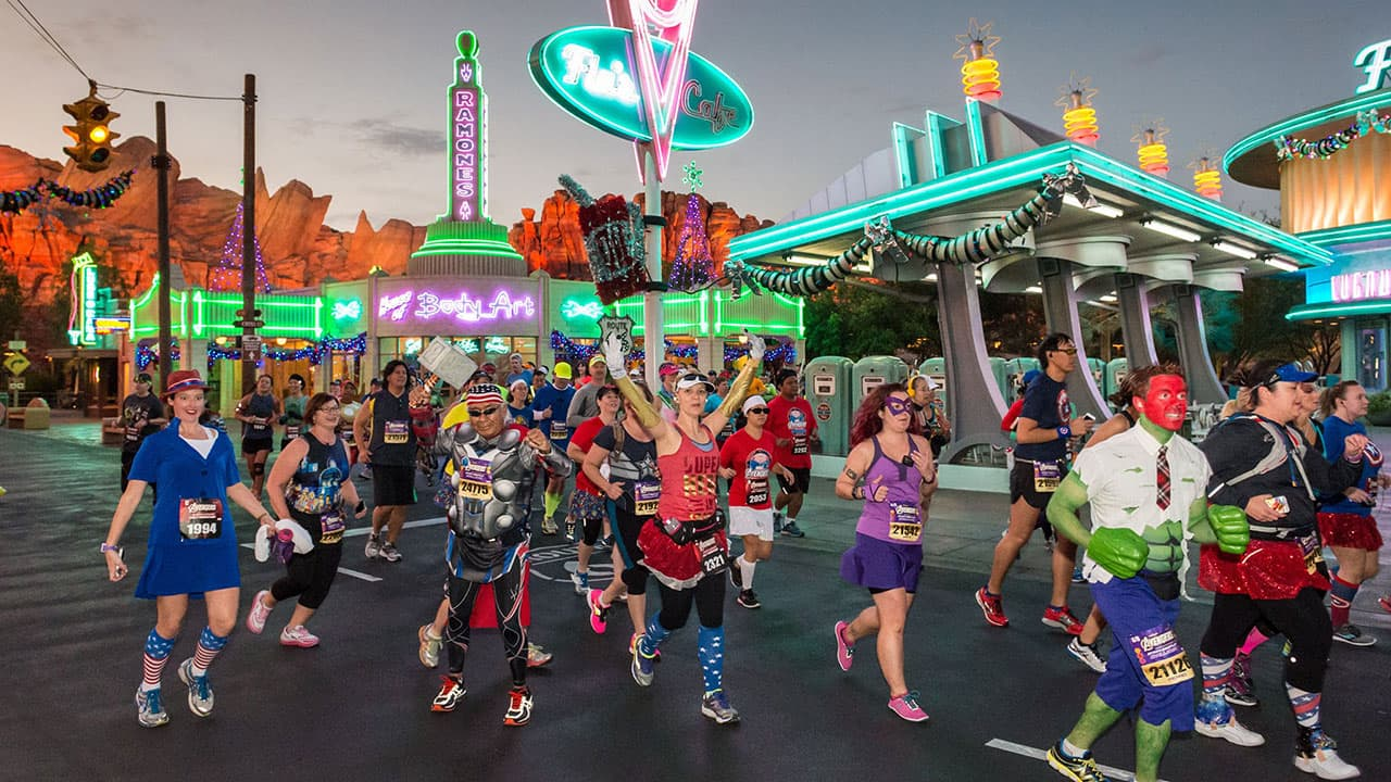 Walt Disney Records Teams Up with runDisney to create Training Playlists