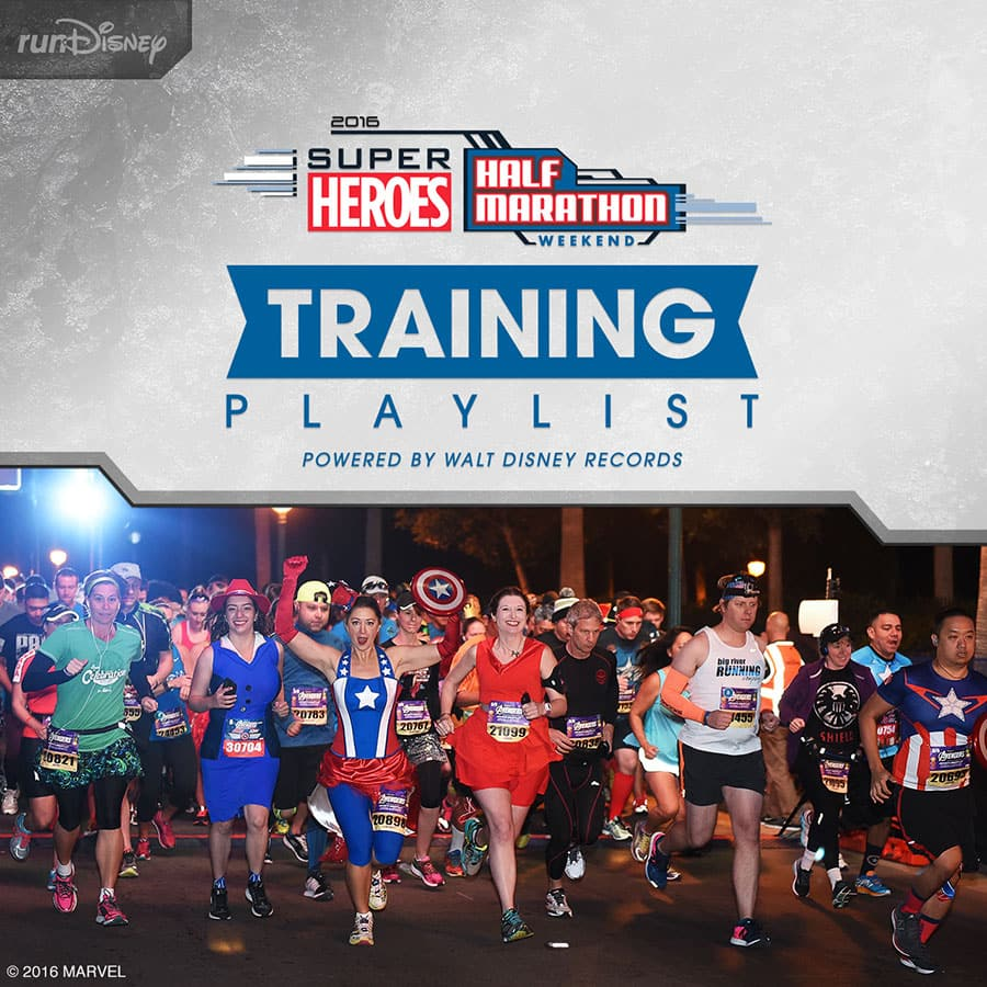 Super Heroes Half Marathon Weekend