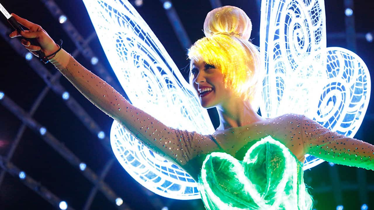 #DisneyParksLIVE: Watch 'Paint the Night' Parade Live at 8:50 p.m. PT
