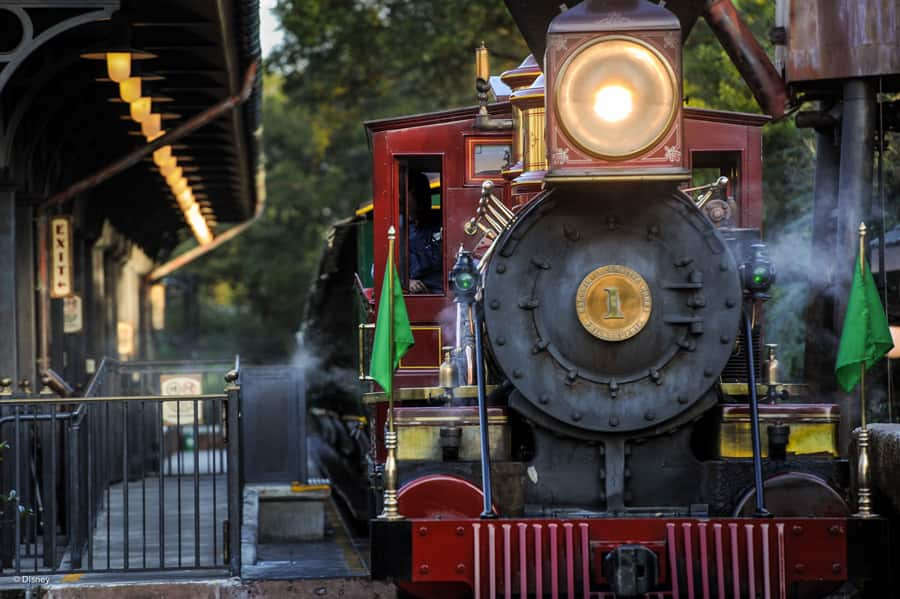 The Walt Disney World Railroad