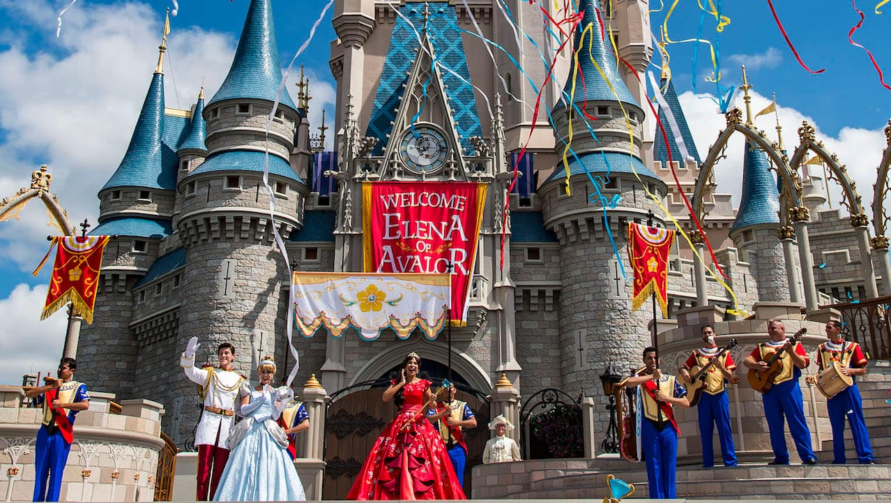 Princess Elena of Avalor's Coronation at Magic Kingdom Park