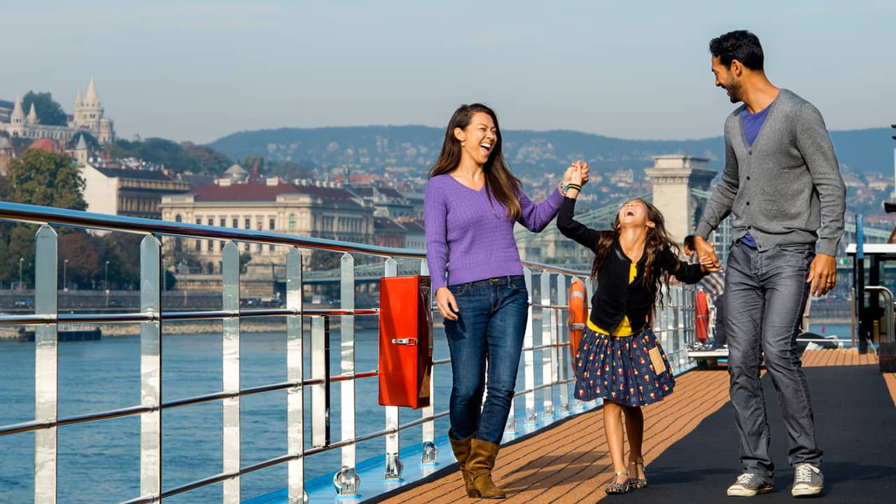Adventures by Disney: Family onboard a Danube River Cruise