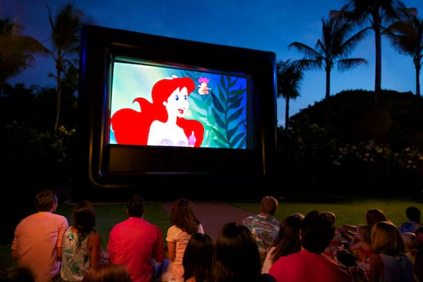 'Ohana Disney Movie Nights at Aulani, a Disney Resort & Spa