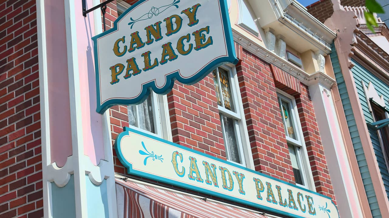 Candy Place on Main Street U.S.A at Disneyland park