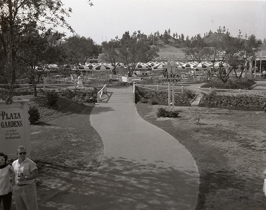 Carnation Plaza Gardens at Disneyland Park