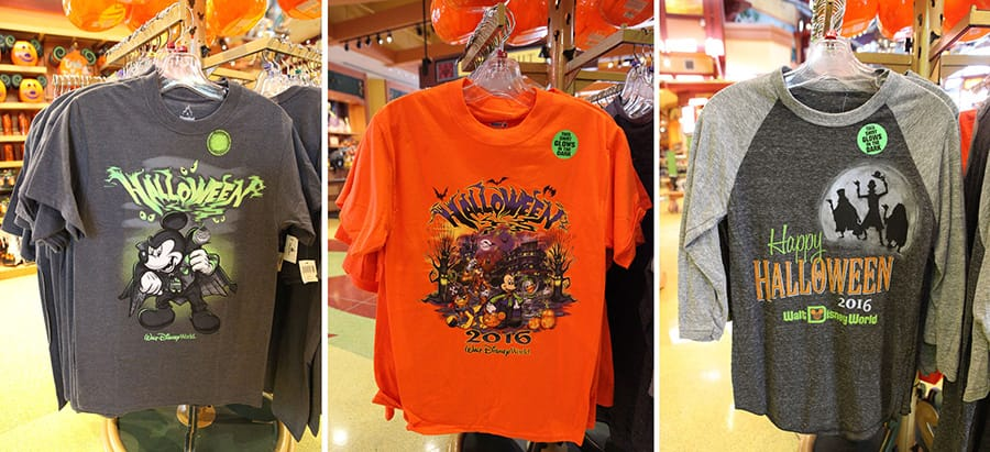 Disney Parks Halloween Shirts