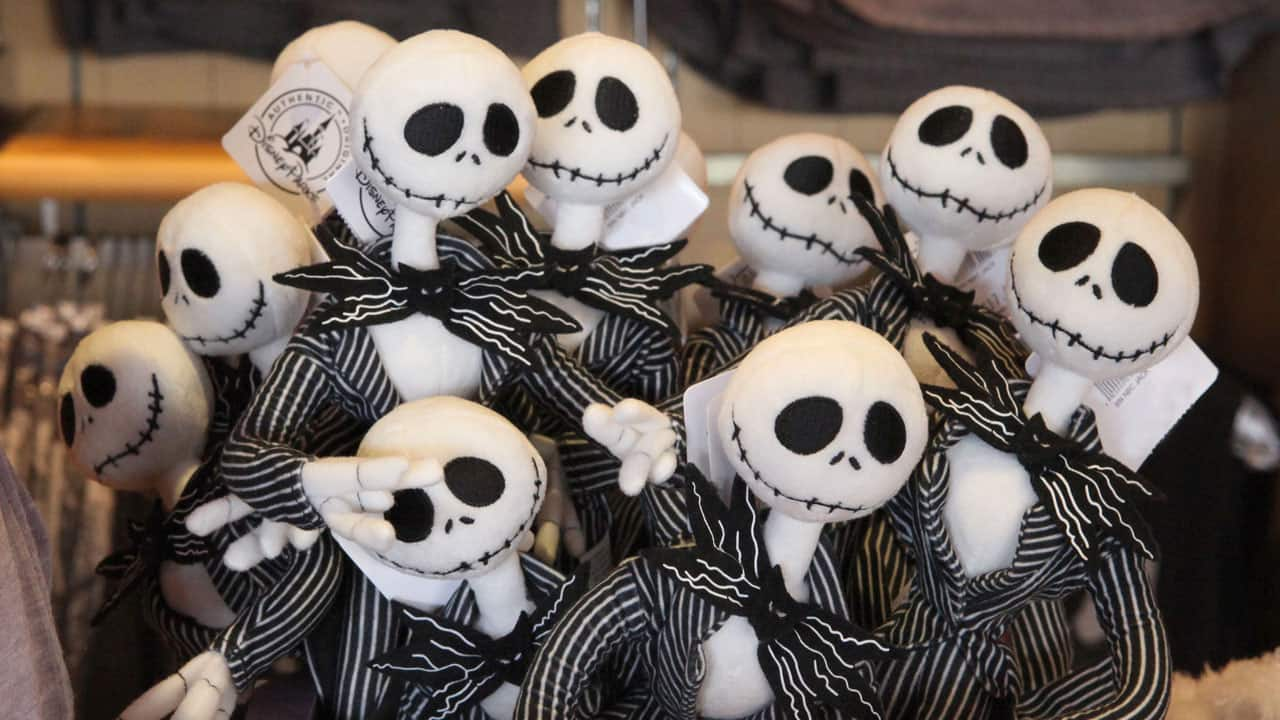 Jack Skellington Dolls from The Nightmare Before Christmas