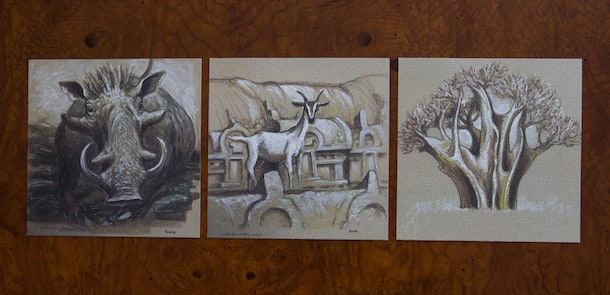 Joe Rhode Sketches from Tiffins at Disney's Animal Kingdom