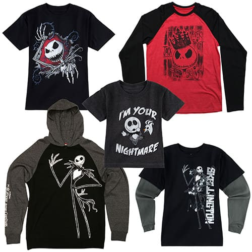 Nightmare Before Christmas Boy's and Men's Apparel