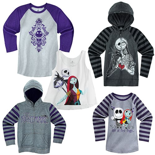 Nightmare Before Christmas Girl's and Women's Apparel