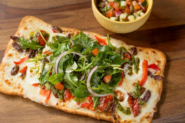 Mediterranean Flatbread from Pizzafari at Disney's Animal Kingdom