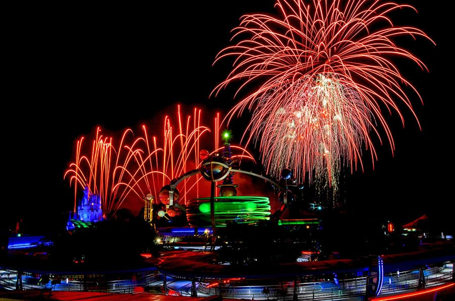 Disney PhotoPass Captures Beauty of Tomorrowland at Night