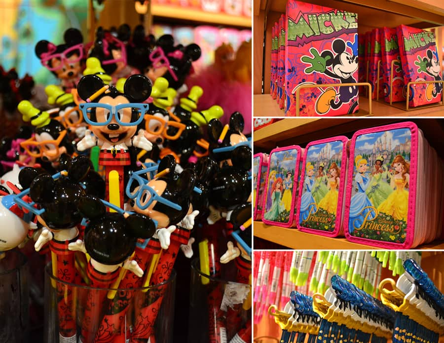 Back-to-school shopping at Disney Springs