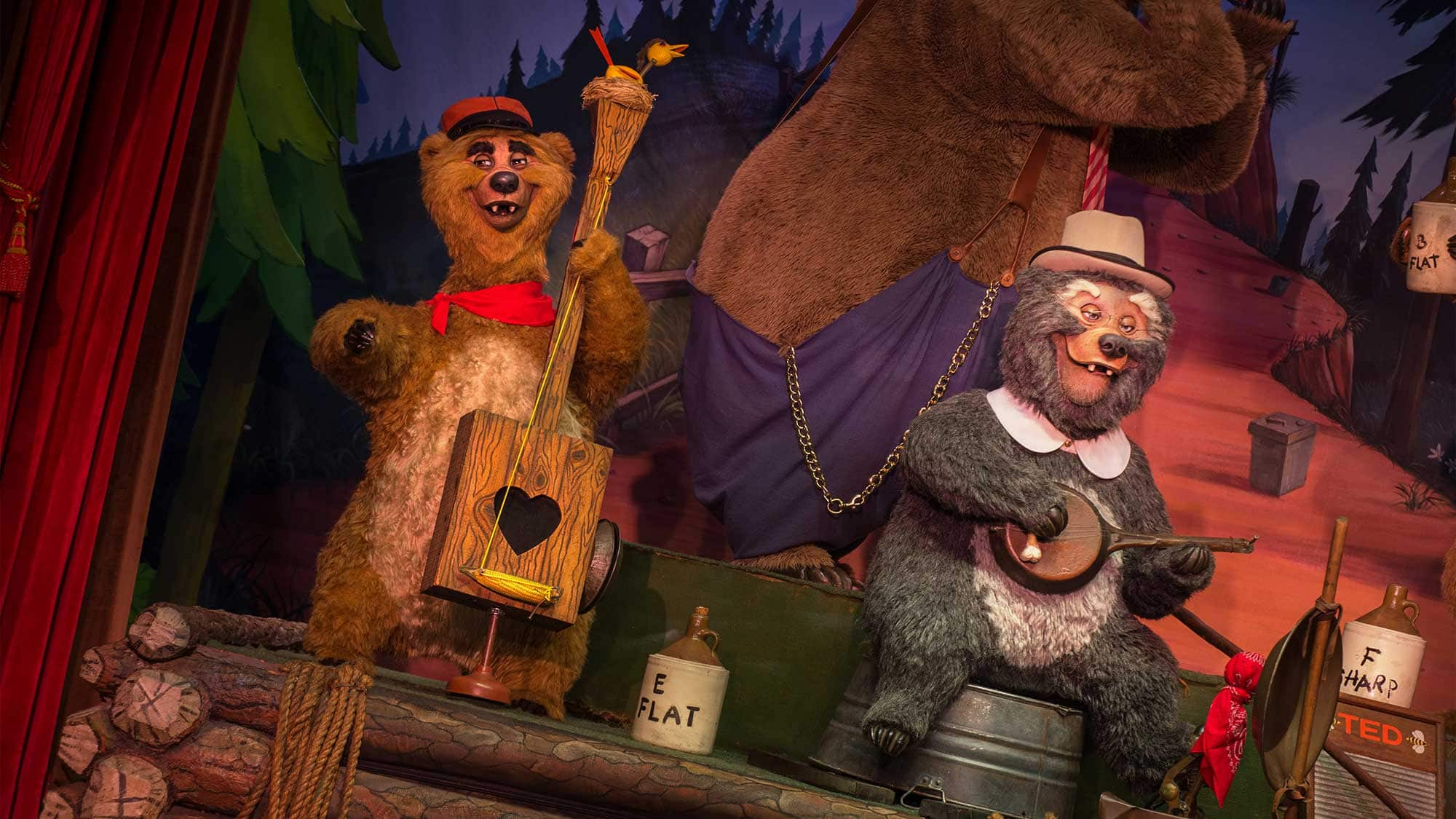 A Fabulous 45th: The Country Bear Jamboree & Their Real Ol' Country Beat
