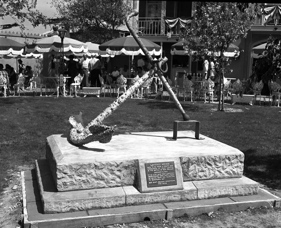 Then and Now: Lafitte's Anchor at Disneyland Park