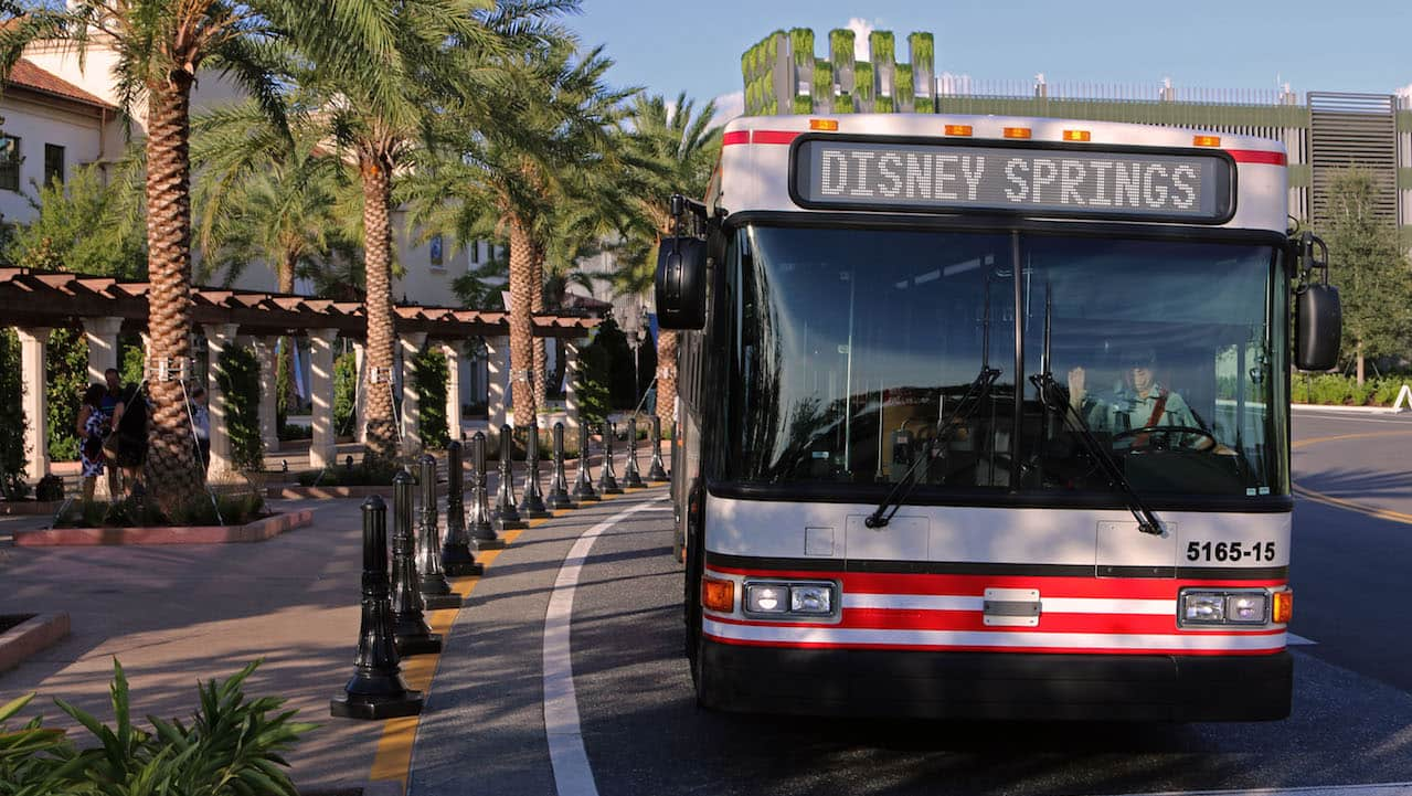 New Bus Service Offers Direct Access to Disney Springs from Theme Parks After 4 p.m.