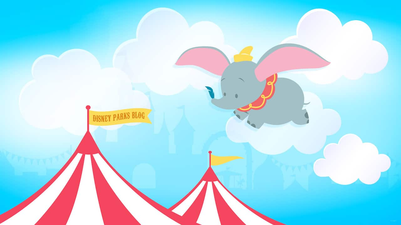 45th Anniversary Wallpaper: Dumbo The Flying Elephant