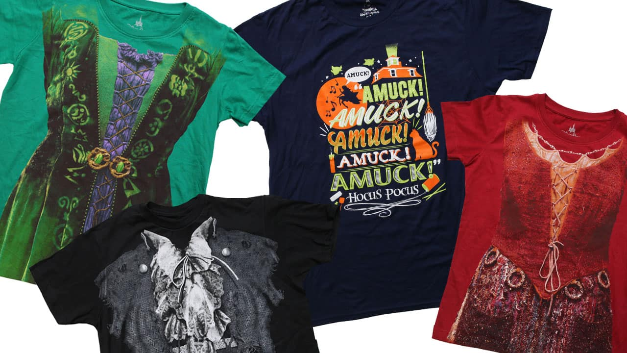 'Hocus Pocus' Apparel Returns to Disney Parks Online Store from September 5-11, 2016