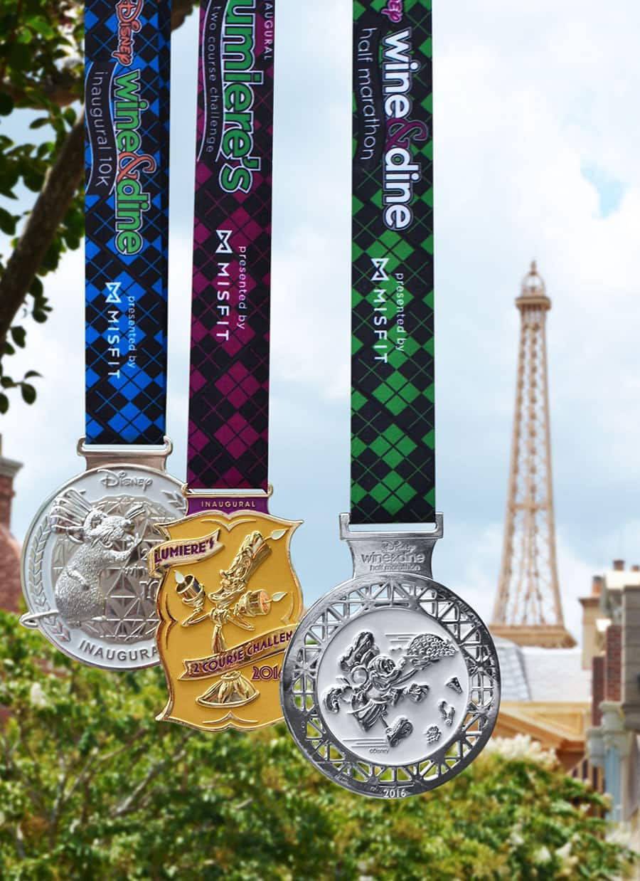 Lumiere's Two Course Challenge Medals