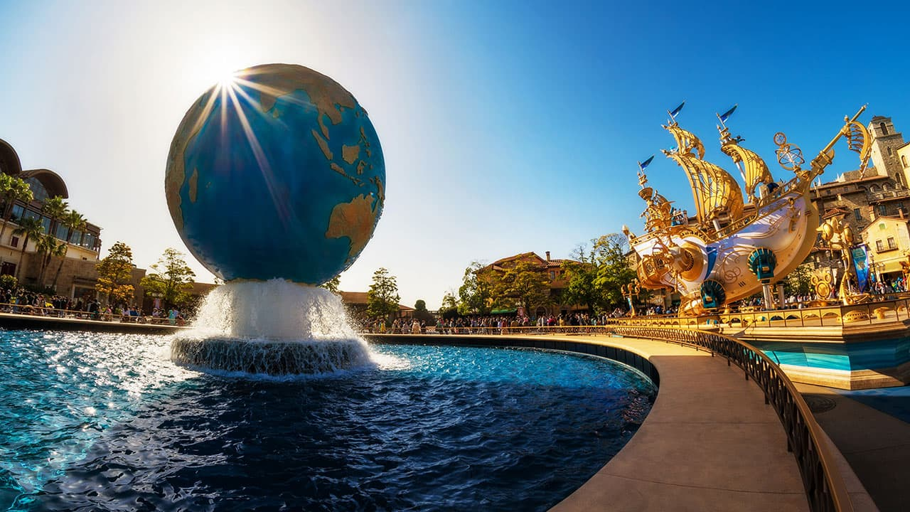 The Sun in Shining on Tokyo DisneySea