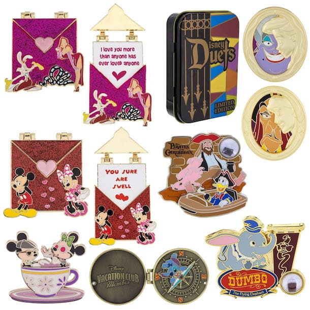 Disney Pin Preview – New Pins Coming to Disney Parks in Late