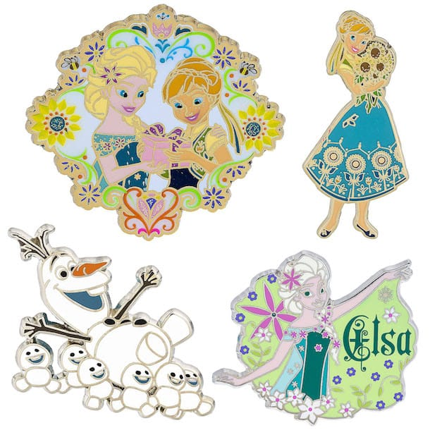 Disney Pin Preview - New Pins Coming to Disney Parks in Late Summer 2016