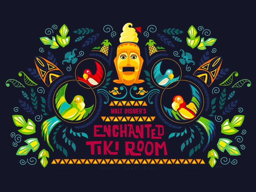 45th Anniversary Wallpaper Walt Disney S Enchanted Tiki