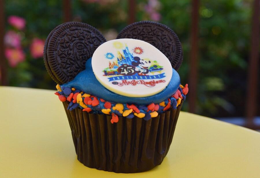 45th Anniversary Cupcake