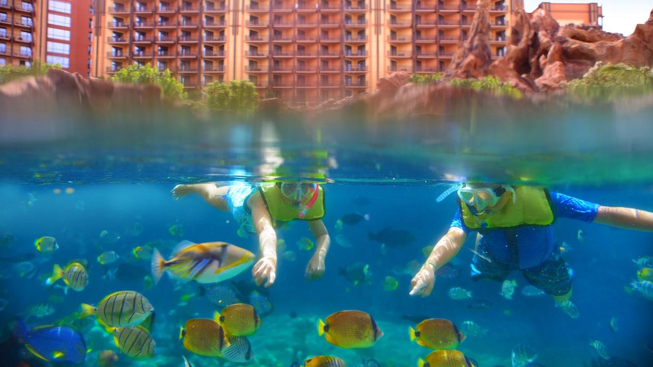 Rainbow Reef at Aulani, a Disney Resort & Spa