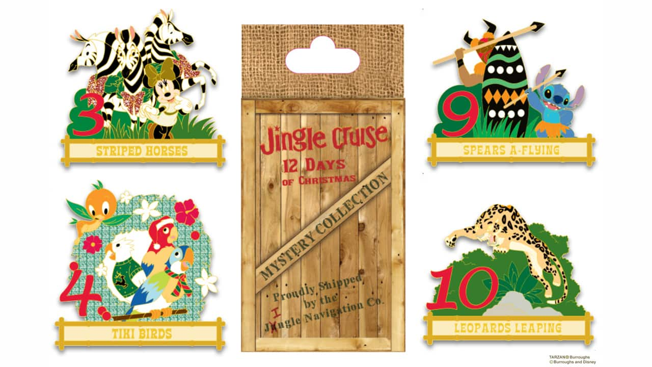 jingle cruise 12 days of christmas mystery collection - Disney 12 Days Of Christmas