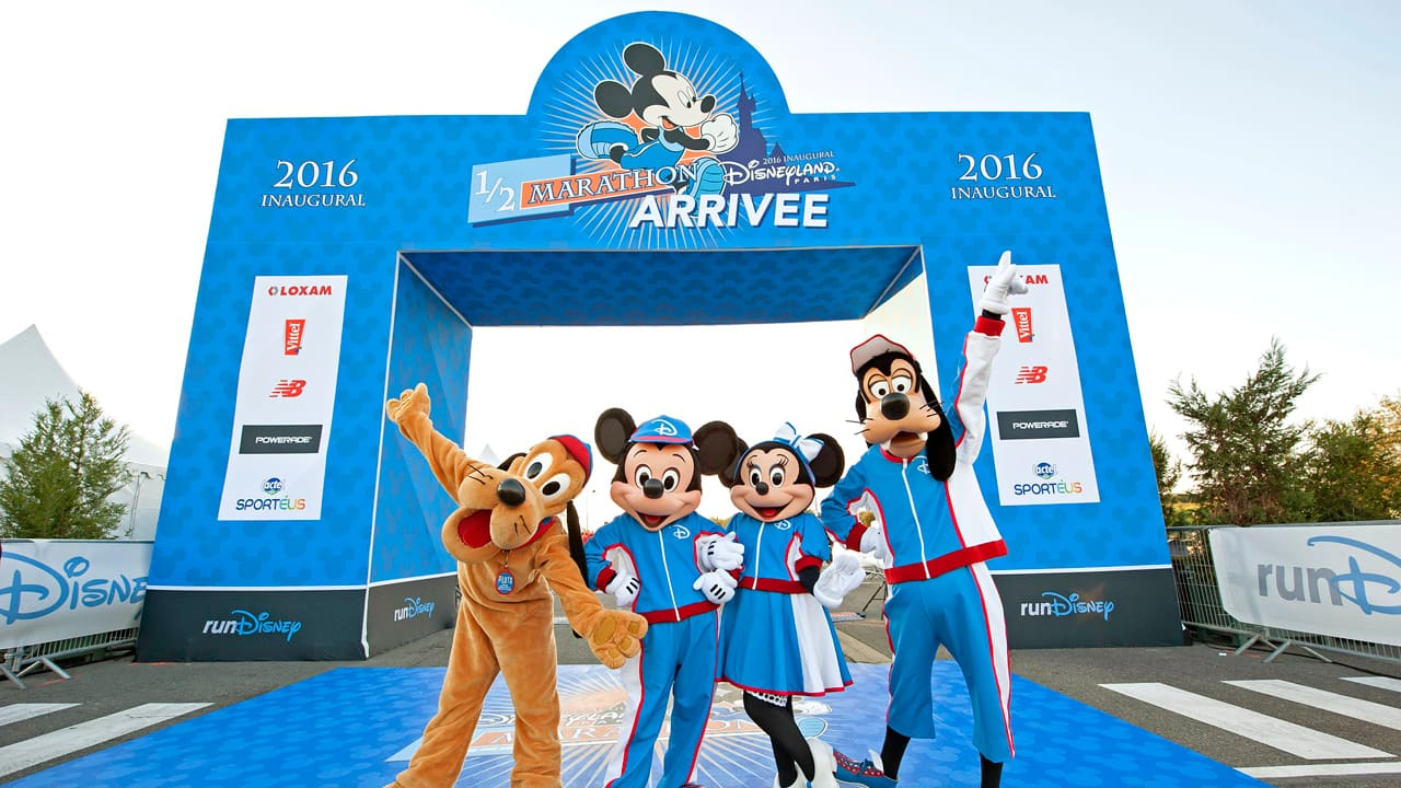 The Inaugural Disneyland Paris – Val d'Europe Half-Marathon Weekend