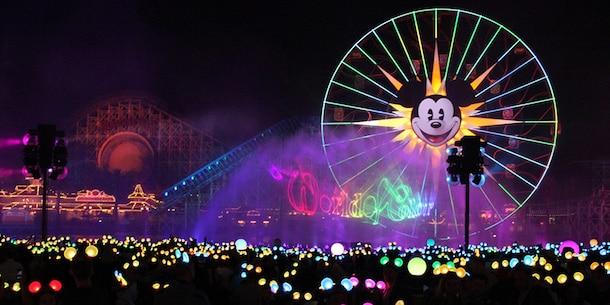 'World of Color – Season of Light' at Disney California Adventure Park