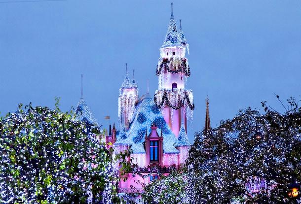 sleeping beautys winter castle at disneyland park - Disneyland Christmas Dates